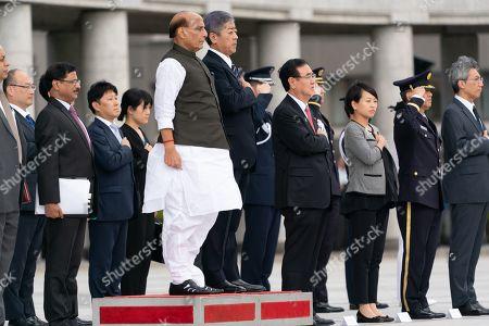 Editorial photo of Defense Minister of India Rajnath Singh visits Tokyo, Japan - 02 Sep 2019