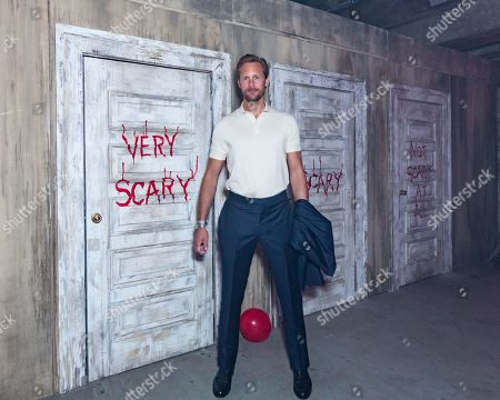 Alexander Skarsgard attends the IT CHAPTER TWO European premiere at the Vaults in Waterloo, London. IT CHAPTER TWO is released in UK cinemas on 6th September