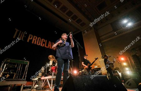 Stock Picture of Craig Reid of the Proclaimers
