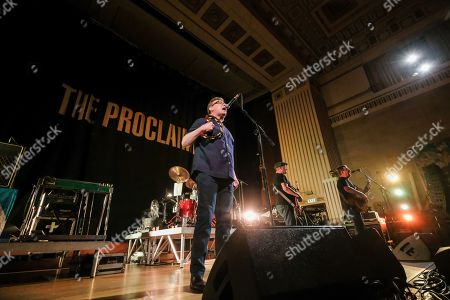 Editorial photo of The Proclaimers in concert, Brangwyn Hall, Swansea, Wales, UK - 01 Sep 2019