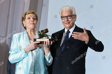 Paolo Baratta Julie Andrews