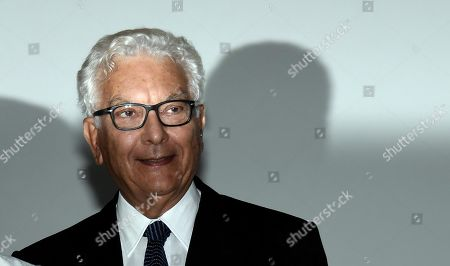 Venice Biennale President Paolo Baratta during the Golden Lion for Lifetime Achievement Award ceremony for British actress Julie Andrews (unseen) at the 76th annual Venice International Film Festival, in Venice, Italy, 02 September 2019. The festival runs from 28 August to 07 September.