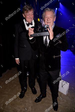 Stephen Fry and Sir Ian McKellen