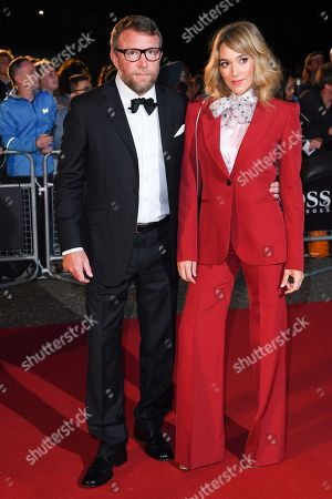 Stock Photo of Guy Ritchie and Jacqui Ainsley