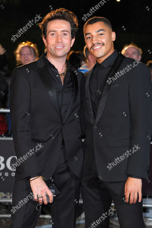 Stock Picture of Nick Grimshaw and Meshach Henry