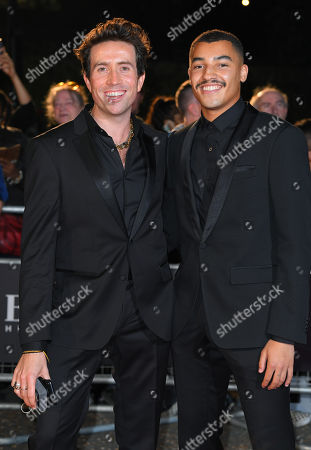 Stock Image of Nick Grimshaw and Meshach Henry