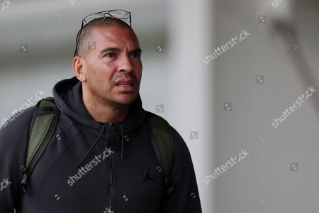 Stan Collymore at training