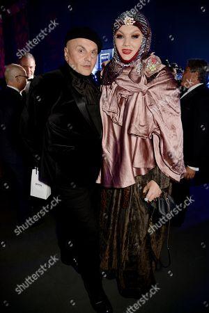 Stock Photo of Sascha Lilic and Daniel Lismore