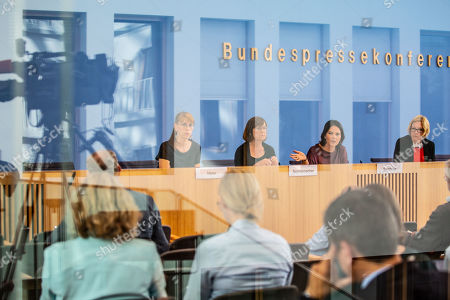 Editorial image of The Greens presser following regional elections in Brandenburg and Saxony 2019, Berlin, Germany - 02 Sep 2019