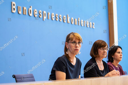 Editorial photo of The Greens presser following regional elections in Brandenburg and Saxony 2019, Berlin, Germany - 02 Sep 2019