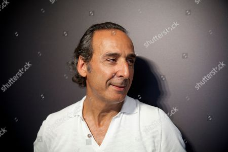 Stock Picture of Alexandre Desplat