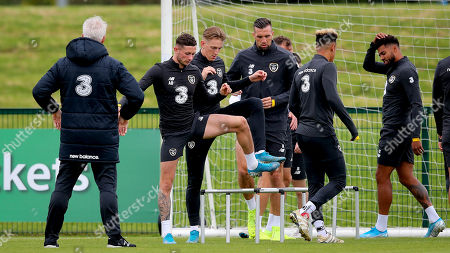 Alan Browne, Ronan Curtis and Shane Duffy