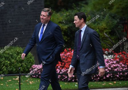 Conservative Member of Parliament, Graham Brady arrives for a cabinet meeting in 10 Downing Street, Westminster, London, Britain, 02 September 2019. Britain's Prime Minister Boris Johnson has said Britain must leave the EU on 31 October, with or without a deal, prompting a number of British Members of Parliament to unite to try to prevent leaving without an agreement as Parliament assembles on 03 September 2019.
