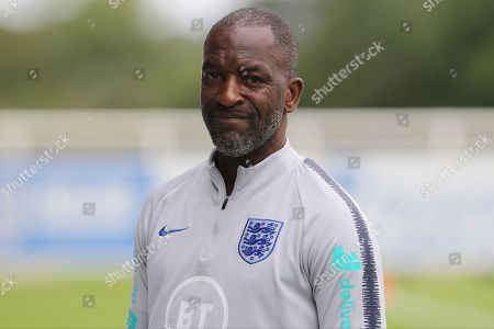 Chris Powell during the England training session at St George's Park National Football Centre, Burton-Upon-Trent