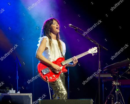 Editorial picture of KT Tunstall in concert, Massachusetts, USA - 29 Aug 2019