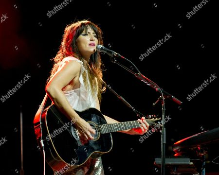 Editorial photo of KT Tunstall in concert, Massachusetts, USA - 29 Aug 2019