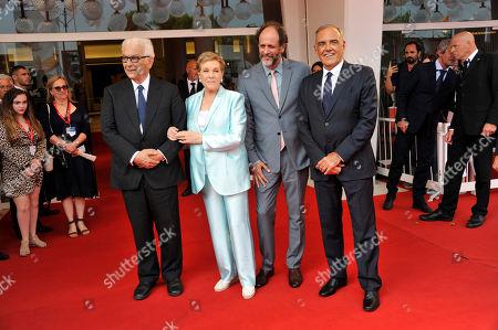 Julie Andrews, Paolo Baratta, Alberto Barbera, Luca Guadagnino