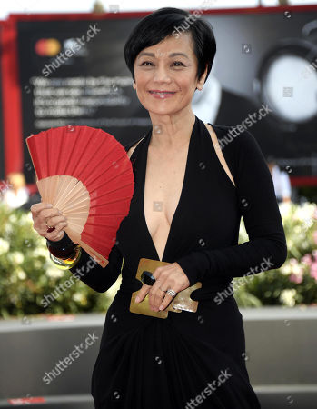 Sylvia Chang arrives for the premiere of 'Ji Yuan Tai Qi Hao (No. 7 Cherry Lane)' during the 76th annual Venice International Film Festival, in Venice, Italy, 02 September 2019. The movie is presented in official competition 'Venezia 76' at the festival running from 28 August to 07 September.