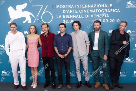 Sean Harris, Lily-Rose Depp, Tom Glynn-Carney, David Michod, Timothee Chalamet, Joel Edgerton and Ben Mendelsohn