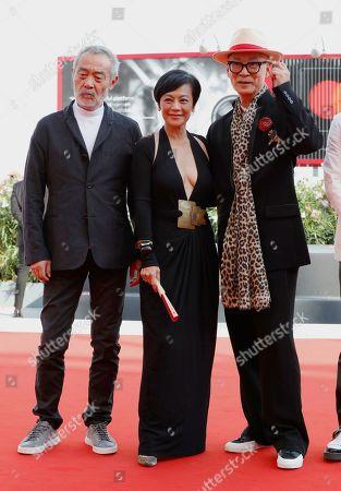 Tian Zhuangzhuang, Sylvia Chang and director Yonfan