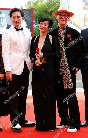 Alex Lam, Sylvia Chang and director Yonfan