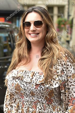 Kelly Brook arrives at the Global Radio