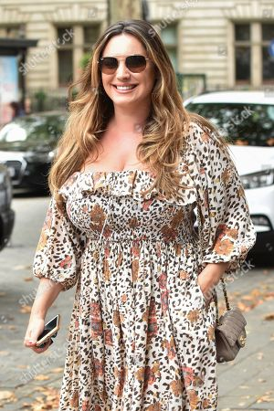 Editorial image of Kelly Brook out and about, London, UK - 02 Sep 2019