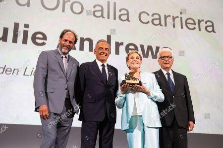 Editorial image of Film Festival 2019 Lifetime Achievement Julie Andrews, Venice, Italy - 02 Sep 2019