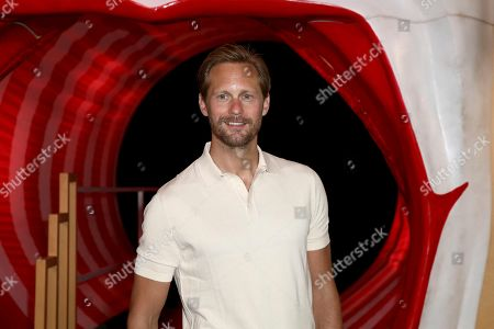Alexander Skarsgard poses for photographers on arrival at the European Premiere of the film 'It Chapter 2' in central London on