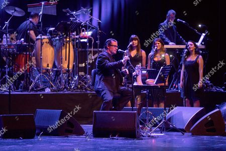 Editorial picture of Mike Patton in concert with his project Mondo Cane, Teatro degli Arcimboldi, Milan, Italy - 02 Sep 2019