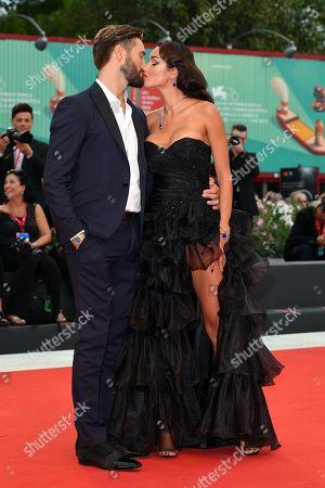 Alex Belli and Delia Duran