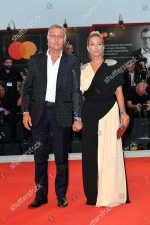 Paolo Bonolis and Sonia Bruganelli
