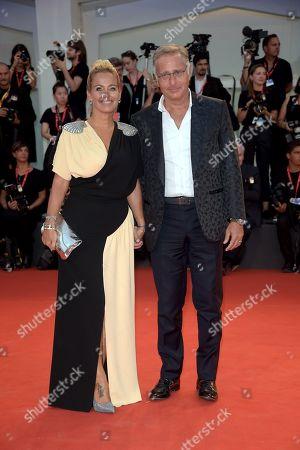 Sonia Bruganelli and Paolo Bonolis