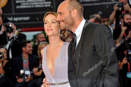 Cristiana Capotondi and Andrea Pezzi