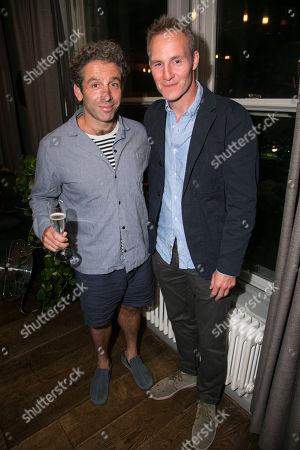 Stock Photo of Elliot Levey and Peter McDonald
