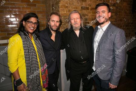 Stock Picture of Indhu Rubasingham (Artistic Director), Florian Zeller (Author), Christopher Hampton (Translation) and Michael Longhurst (Director)