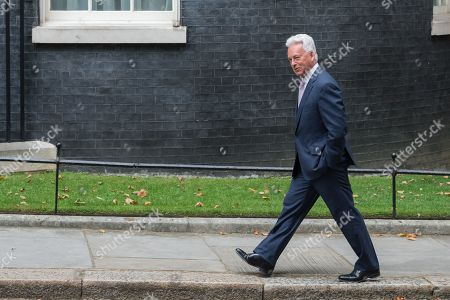 Sir Alan Duncan MP arrives in Downing Street