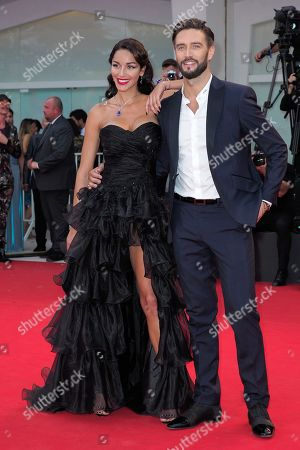 Stock Image of Delia Duran and Alex Belli