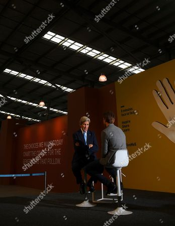 Editorial picture of Former US Secretary Of State John F. Kerry visits Australia, Melbourne - 03 Sep 2019