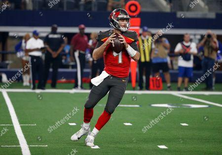 Ryan Griffin. Dallas Cowboys quarterback Dak Prescott (4) prepares to throw a pass during a preseason NFL football game against the Dallas Cowboys in Arlington, Texas