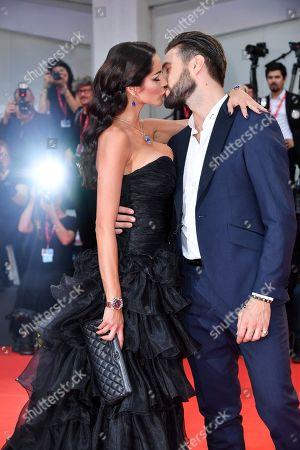 Stock Photo of Delia Duran and Alex Belli