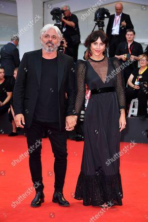Dino Abbrescia and Susy Laude