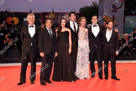 Maurizio Braucci, Marco Leonardi, Denise Sardisco, Pietro Marcello, Jessica Cressy, Luca Marinelli and Vincenzo Nemolato