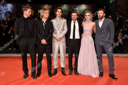 Stock Image of Sean Harris, Tom Glynn-Carney, Timothee Chalamet, David Michod, Lily-Rose Depp and Joel Edgerton