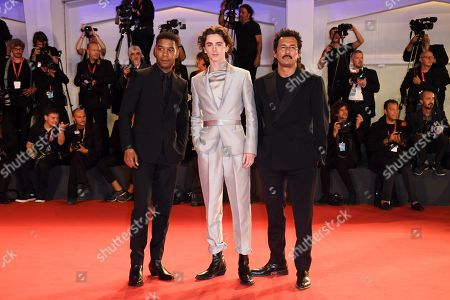 Kid Cudi, Timothee Chalamet and Haider Ackermann