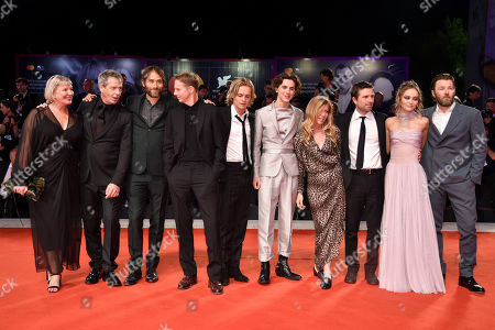 Ben Mendelsohn, Sean Harris, Tom Glynn-Carney, Timothee Chalamet, David Michod, Lily-Rose Depp and Joel Edgerton