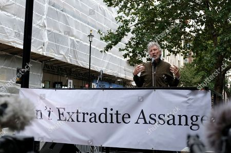 Editorial image of Don't Extradite Assange rally, London, UK - 02 Sep 2019