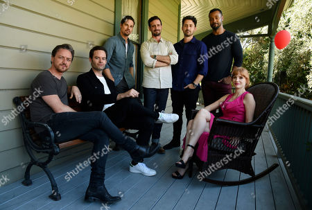 "Jessica Chastain, Jay Ryan, James McAvoy, Bill Hader, Andy Bean, James Ransone, Isaiah Mustafa. It Chapter Two"" cast members, from left, James McAvoy, Bill Hader, Jay Ryan, James Ransone, Andy Bean, Isaiah Mustafa and Jessica Chastain pose together for a portrait at Heritage Square Museum, in Los Angeles. There are high expectations for the sequel opening Thursday, Sept. 5, especially since the first film was not only loved by critics but became the highest grossing horror movie of all time"