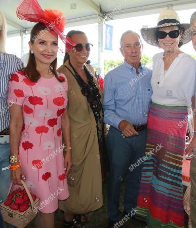 Jean Shafiroff, Donna Karan, Mayor Michael Bloomberg, Diana Taylor