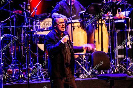 Editorial photo of Mike Patton in concert, Teatro degli Arcimboldi, Milan, Italy - 02 Sep 2019